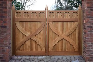 Artemis hardwood automated gates